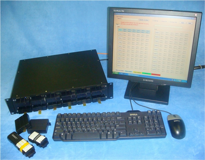 Image showing universal eMTA battery testing system